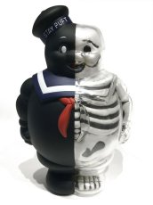 画像1: MARSHMALLOW MAN X-RAY FULL COLOR BLACK (1)