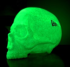 画像4: 1/1 SKULL HEAD & New Era? 9FIFTY? GREEN RAME SET (G.I.D.) (4)