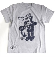 画像1: FRANKEN TOY T-SHIRT By SECRETBASE × DTTT GRAY (1)