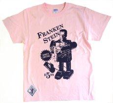 画像1: FRANKEN TOY T-SHIRT By SECRETBASE × DTTT PINK (1)