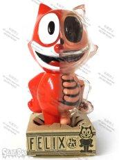 画像5: FELIX THE CAT X-RAY FULL COLOR RED G.I.D. (5)