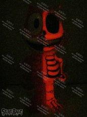 画像4: FELIX THE CAT X-RAY FULL COLOR RED G.I.D. (4)