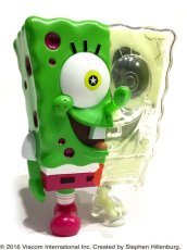 画像2: X-RAY SPONGE BOB PINS SET GREEN (2)