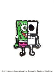 画像6: X-RAY SPONGE BOB PINS SET GREEN (6)