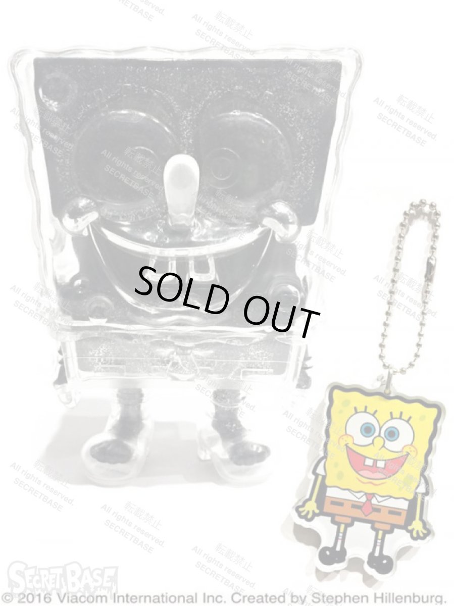 画像1: SPONGE BOB KEY CHAIN SET BLACK RAME (1)
