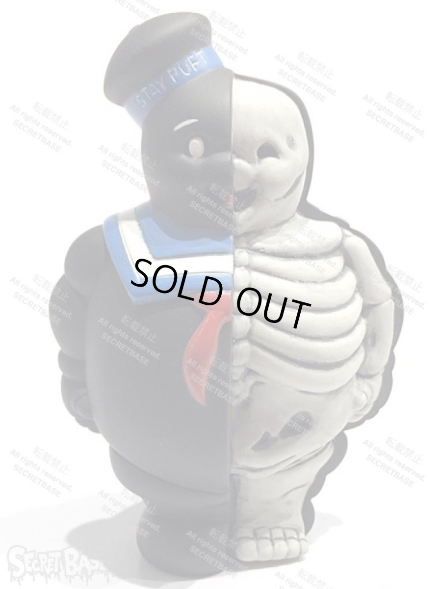 画像1: MARSHMALLOW MAN 1/4 XRAY FULL COLOR BLACK (1)