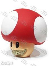 画像2: Mushroom Grin by Ron English RED (2)