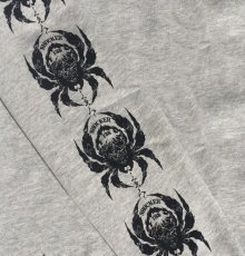 画像3: BALZAC x USUGROW SPIDER LONG TEE GRAY (3)