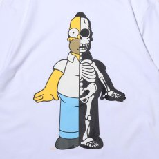画像2: THE SIMPSONS x SECRET BASE x atmos HOMER X-RAY  TEE WHITE (2)