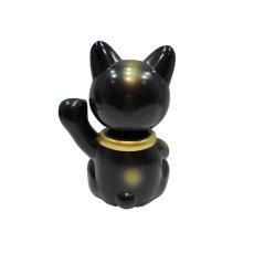画像2:  BOBBLING HEAD LUCKY CAT FULL COLOR BLACK Ver.[名入れサービス] (2)