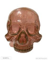 画像2: 1/1 SKULL HEAD CLEAR REDDISH BROWN  (2)