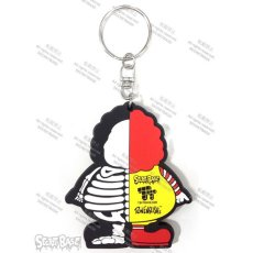 画像2: X-RAY MC SUPER SIZED RUBBER KEY HOLDER YELLOW (2)