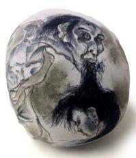 画像3: S・G・F 1/1 SKULL HEAD Artist/GANJI (Three Tides tattoo) (3)