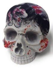 画像1: S・G・F 1/1 SKULL HEAD Artist/GANJI (Three Tides tattoo) (1)