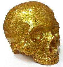 画像2: 1/1 SKULL HEAD & New Era? 9FIFTY? GOLD RAME SET (2)