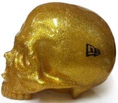 画像3: 1/1 SKULL HEAD & New Era? 9FIFTY? GOLD RAME SET (3)