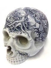 """画像1: """"MEDETAI"""" 1/1 SKULL HEAD Artist/GANJI (Three Tides tattoo) (1)"""