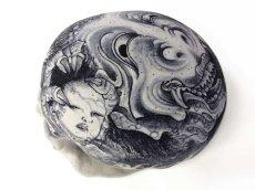 """画像3: """"MEDETAI"""" 1/1 SKULL HEAD Artist/GANJI (Three Tides tattoo) (3)"""