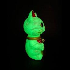 画像7: BOBBLING HEAD LUCKY CAT FULL COLOR MARBLE GLOW WHITE Ver.[名入れサービス] (7)