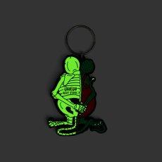画像4: X-RAY RAT FINK RUBBER KEY HOLDER Glow in the Dark Ver. (4)