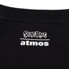 画像6: THE SIMPSONS x SECRET BASE x atmos BART EMBROIDERY POCKET LS TEE BLACK (6)