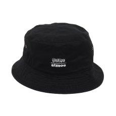 画像4: THE SIMPSONS x SECRET BASE x atmos BART BUCKET HAT BLACK (4)