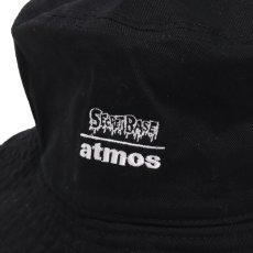 画像5: THE SIMPSONS x SECRET BASE x atmos BART BUCKET HAT BLACK (5)