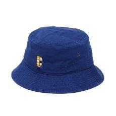画像1: THE SIMPSONS x SECRET BASE x atmos BART BUCKET HAT BLUE (1)