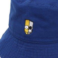 画像5: THE SIMPSONS x SECRET BASE x atmos BART BUCKET HAT BLUE (5)