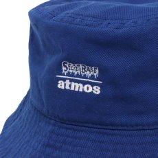 画像2: THE SIMPSONS x SECRET BASE x atmos BART BUCKET HAT BLUE (2)