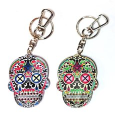 画像1: MEXICO SKULL KEY HOLDER (1)