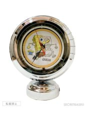 画像1: SECRETBASE ORIGINAL X-RAY SPONGEBOB NEON CLOCK (1)
