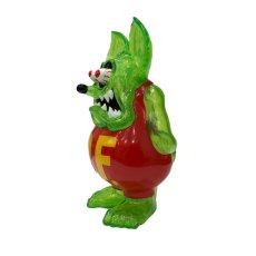画像2: RAT FINK FULL COLOR GREEN CLEAR with RAME ver. (2)