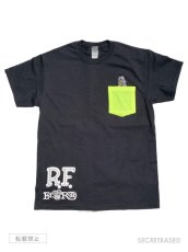 画像1: RAT FINK x SECRETBASE POCKET T-SHIRTS BLACK (1)