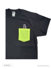 画像4: RAT FINK x SECRETBASE POCKET T-SHIRTS BLACK (4)