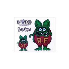 画像4: FRUIT OF THE LOOM x RAT FINK x SECRETBASE Original Designed T-shirts BLACK (4)