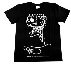 画像1: FLYING-V KITTY T-SHIRT BLACK (1)