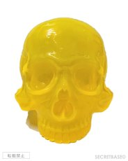 "画像2: 1/1 SKULL HEAD CLEAR CLEAR  ""MIKAN"" ORANGE (2)"