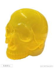 "画像1: 1/1 SKULL HEAD CLEAR CLEAR  ""MIKAN"" ORANGE (1)"