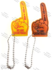 画像1: FINGER SIGN KEY HOLDER No.1 (1)
