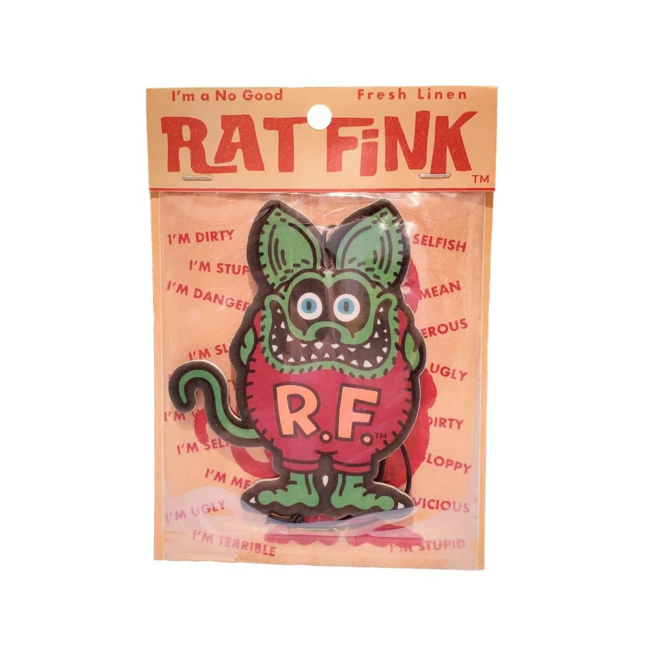 """画像1: ORIGINAL """"New"""" RAT FINK  AIRFRESHENER (1)"""