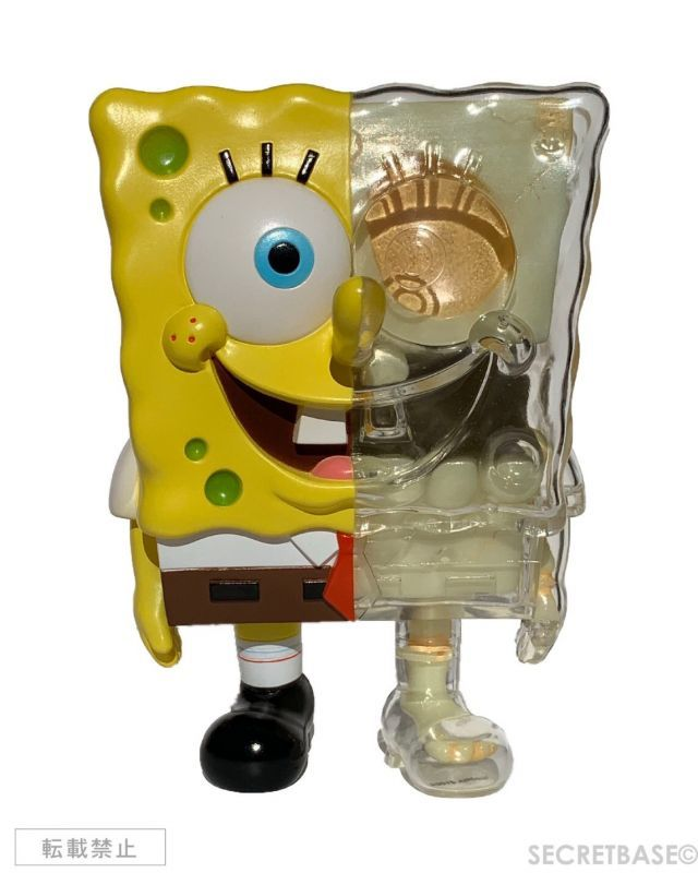 画像1: SPONGEBOB X-RAY FULL COLOR Yellow Ver. (1)