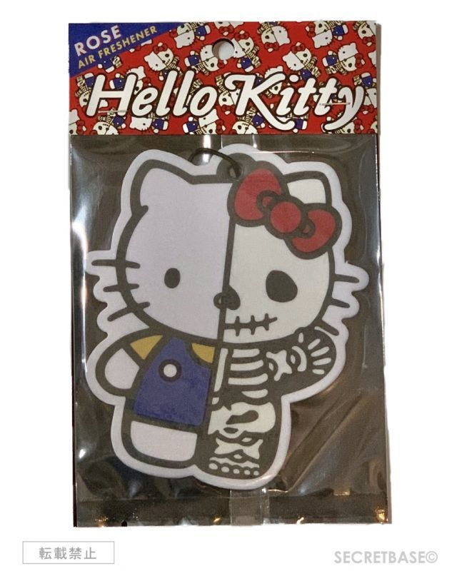 画像1: HELLO KITTY X-RAY ORIGINAL AIRFRESHENER BLUE Ver. (1)