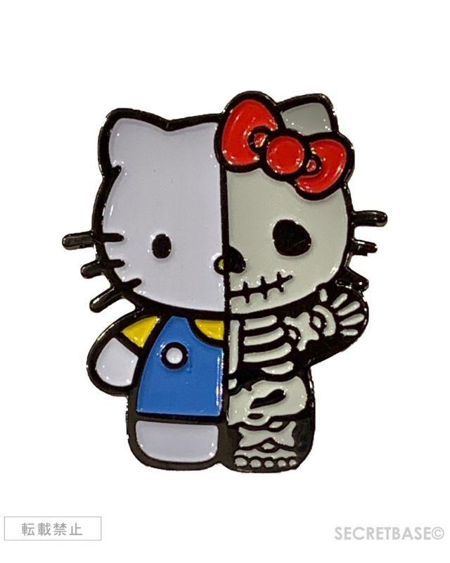 画像1: HELLO KITTY X-RAY PINS BLUE Ver. (1)