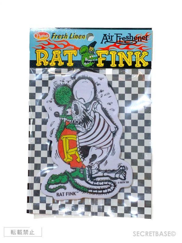 画像1: RAT FINK X-RAY ORIGINAL AIRFRESHENER (1)