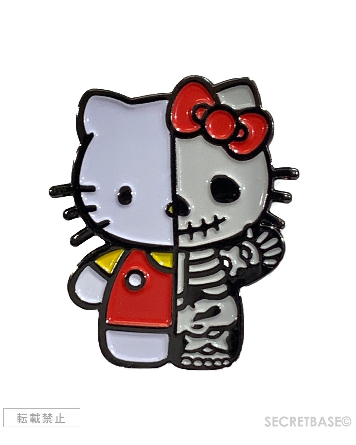 画像1: HELLO KITTY X-RAY PINS RED Ver. (1)
