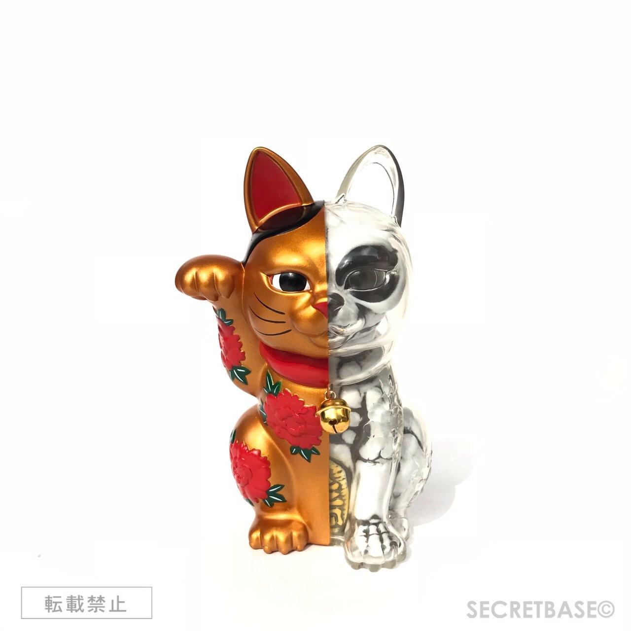 画像1: LUCKY CAT X-RAY FULL COLOR  GOLD (1)