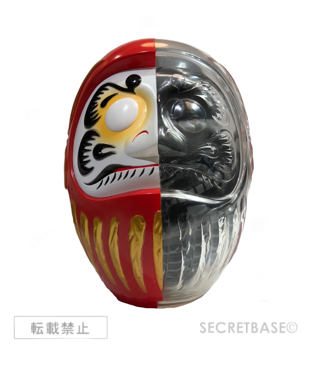 画像1: DARUMA MECHA-SKULL X-RAY FULL COLOR RED Ver. (1)