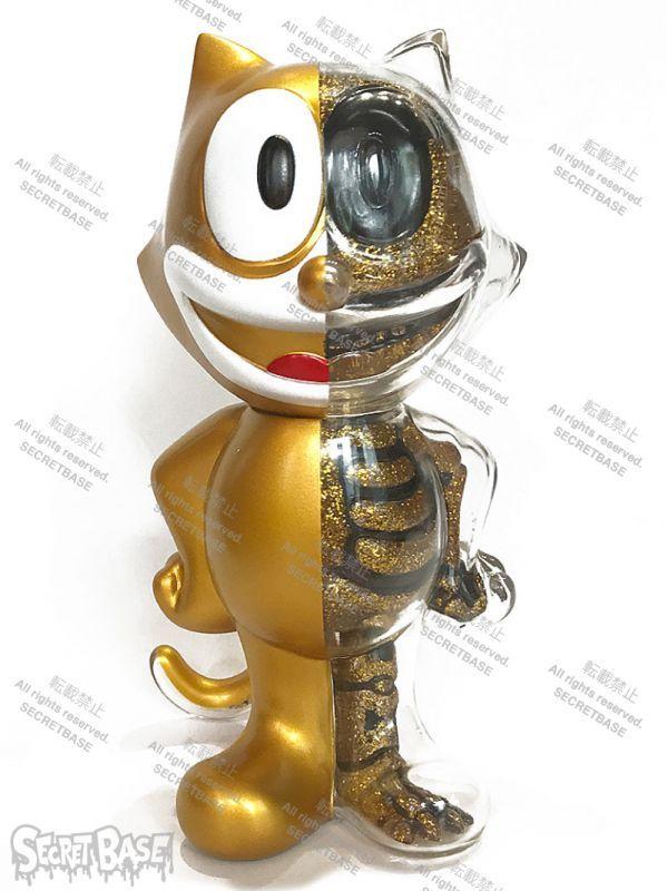 画像1: FELIX THE CAT X-RAY FULL COLOR GOLD (1)