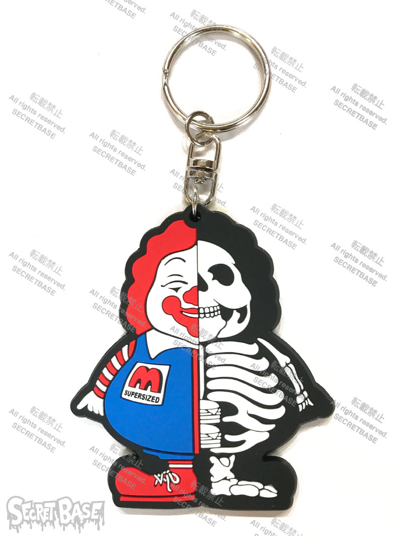 画像1: X-RAY MC SUPER SIZED RUBBER KEY HOLDER BLUE (1)
